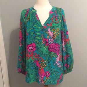 Gorgeous Lilly Pulitzer Top